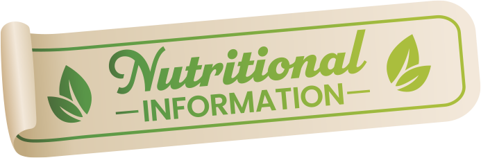 Banner for Nutritional Information